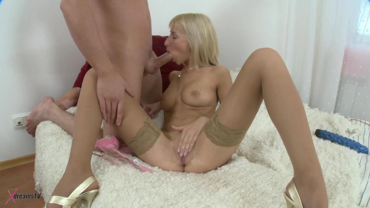 Constanze The Wicked Hot Blonde Does It Anal Too