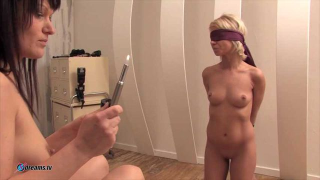 Submissive - Lesbian Domina Control Her Slave