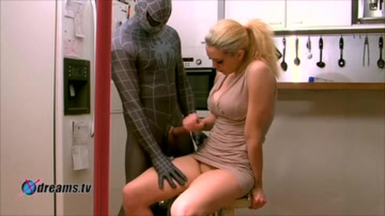 Freed By Spyderboy, Thanked With Handjob