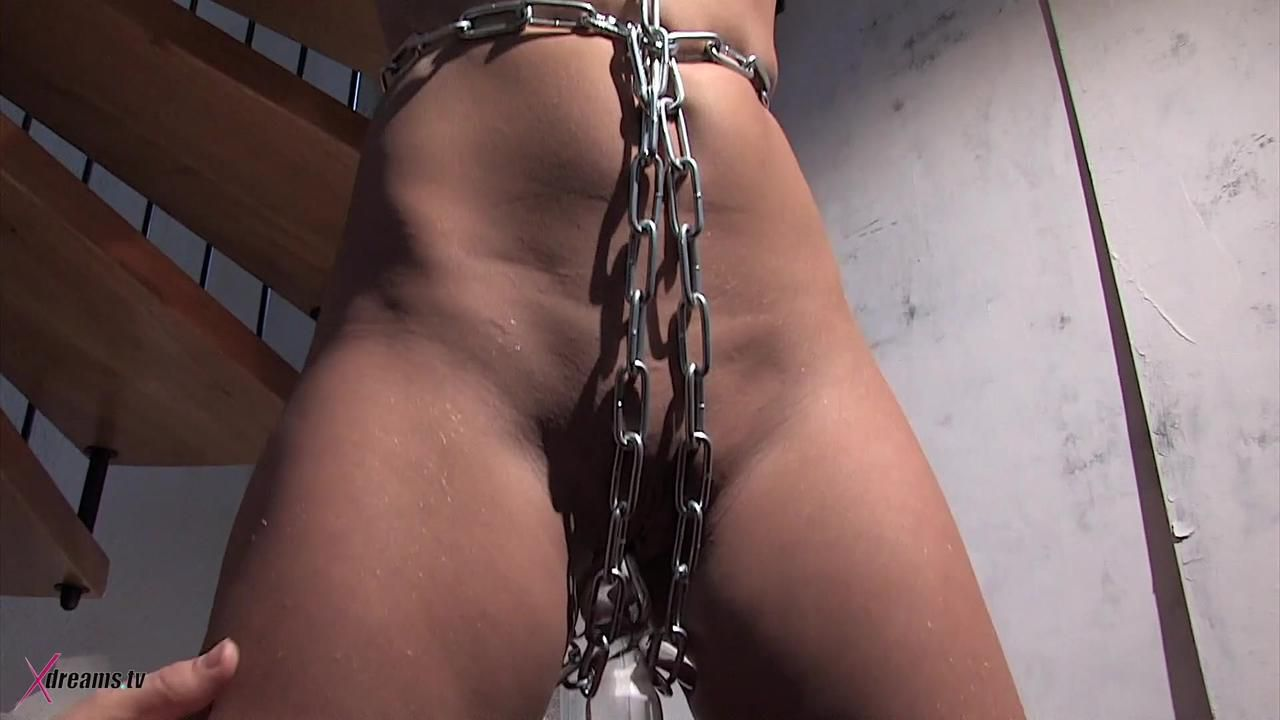 Lena To Be Chained And Nagging By Nipple Clamps