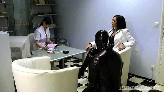 Mistress Zita & Cheyenne de Muriel - A nasty Therapy Part1