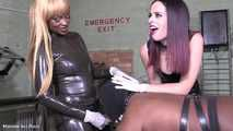 Whores ride Mistress she-cock - Full clip