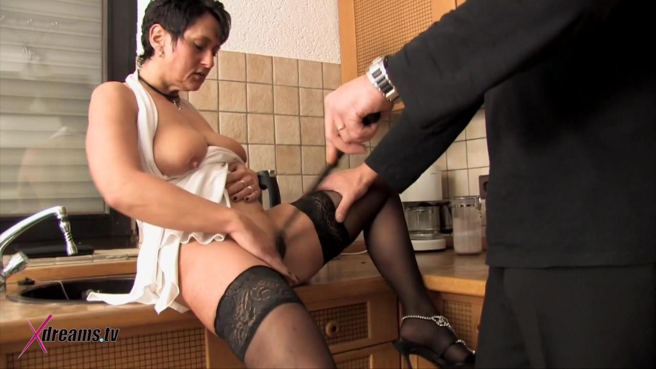 Ilona Sensual Domination And Couple Sex In Kitchen