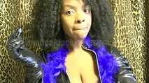 Latex Blu Lips