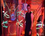Blacklight installation @ Wasteland 20 year anniversary - video