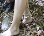 ab-137 Barefoot in the forest
