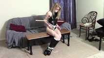 Rachel Lillys' bondage punishment
