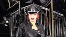 Mistress Tokyo POV small penis verbal humiliation, in leather!