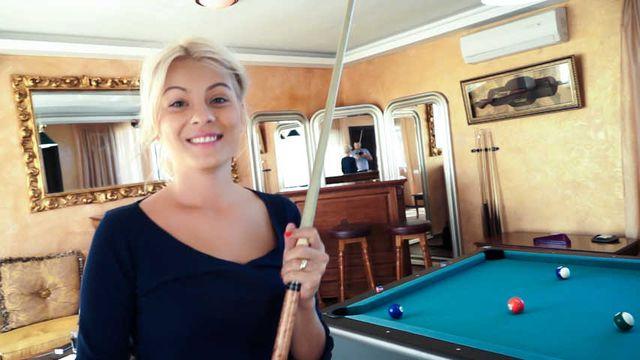 BFvsGF S01E07 - Titus Steel & Jasmine Rouge Pool Table Challenge