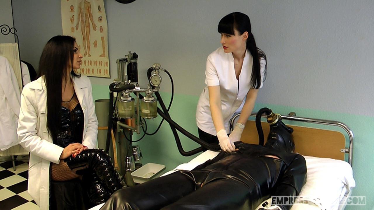 Mistress Zita & Cheyenne de Muriel - A nasty Therapy Part2