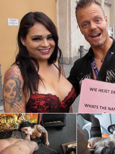 Pics - Venuscasting with a hot latina