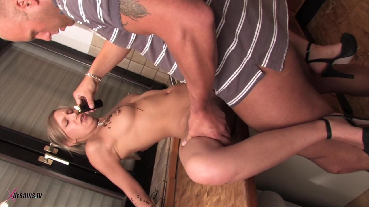 Lena's Gorgeous Sex-Play In The Kitchen