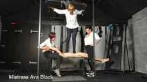 The Dungeon slave's trample punishment!