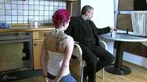 Jennifer Get Disciplined By Her Master