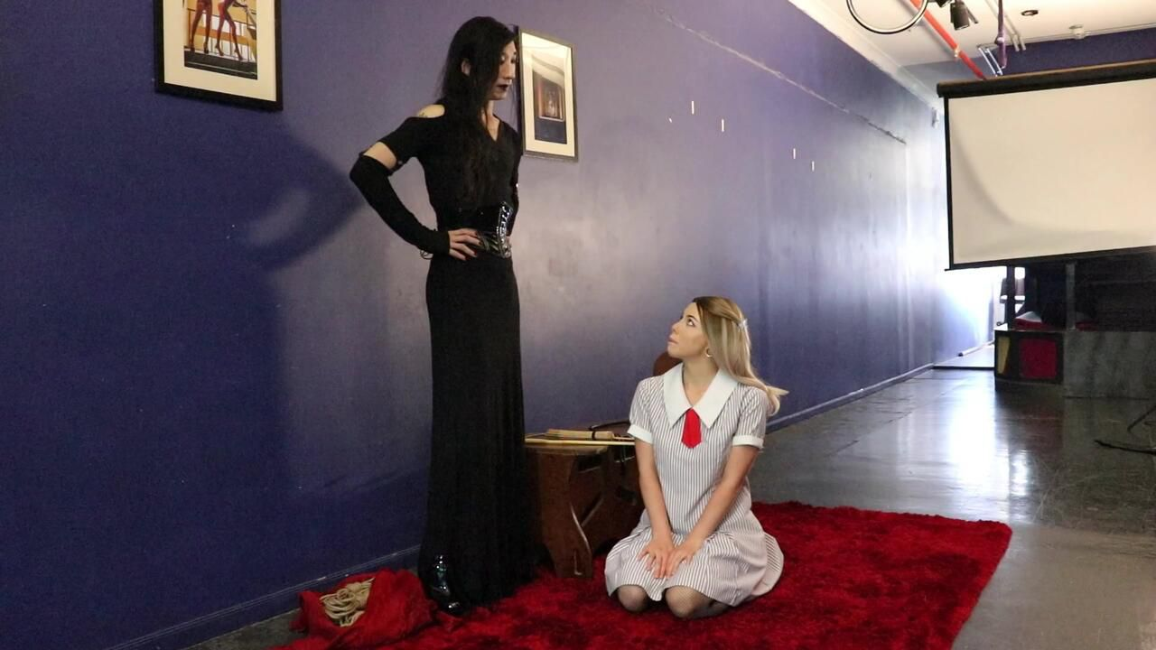 Mistress Lillith's Finishing School - Foot Fetish Punishment w/Sadist Arabella