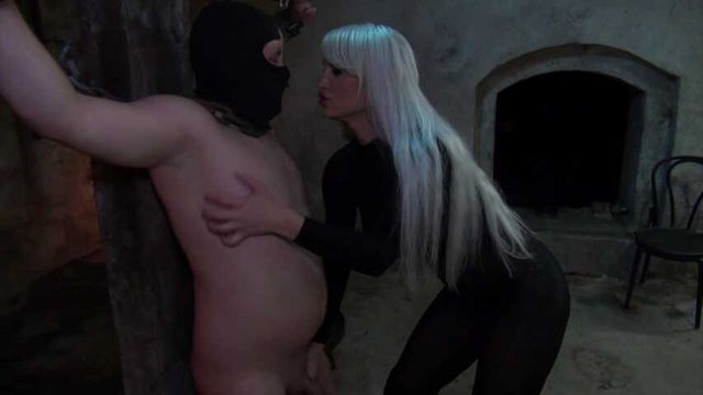 Slave humiliated and milked