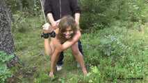 Slut-Fucking Deep In The Woods