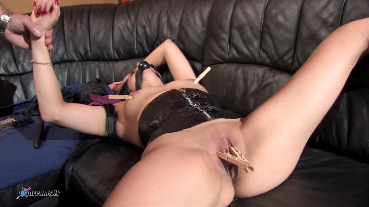 Nadja Submissed And Educated By Her Master