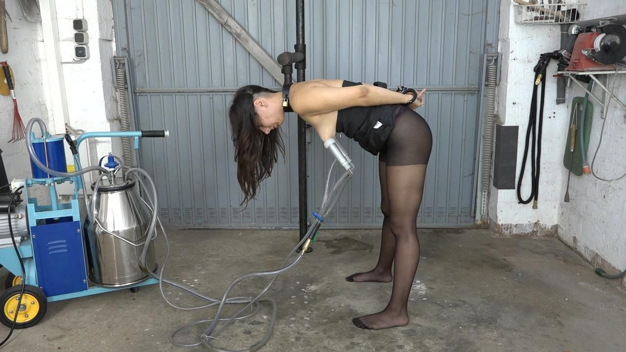 Milking and spanking