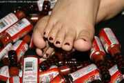 Red Hot Toes