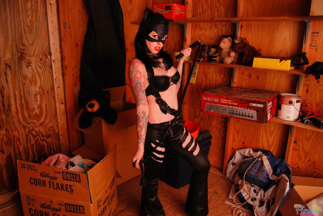 Kinky Florida Amateur Teen Barbie Cosplaying Cat Girl
