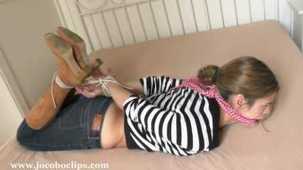 Hogtied By The Loan Shark