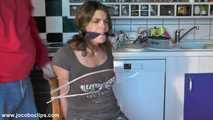 Captured At Her Kitchen