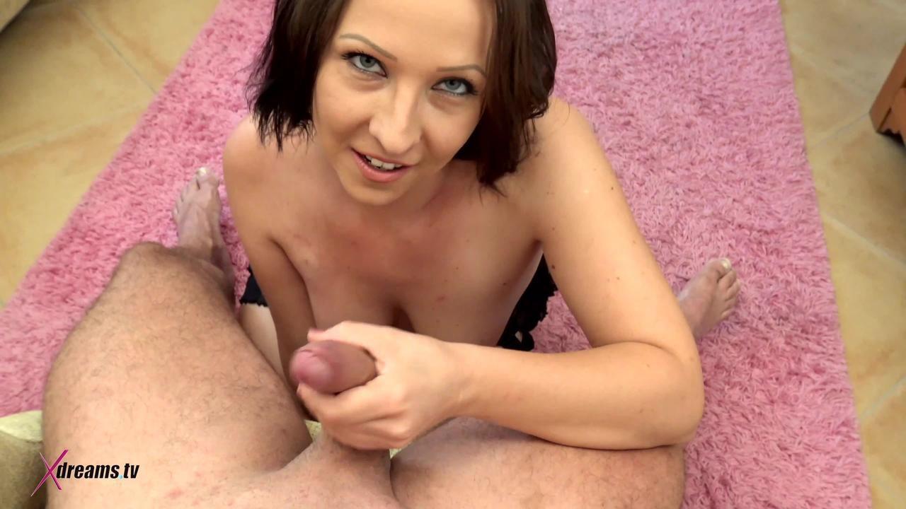 Ashley Dark To Seduce Her Hubby By POV-Handjob