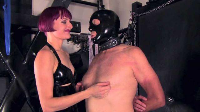 Mistress Tokyo - rope bondage suspension prostate massage