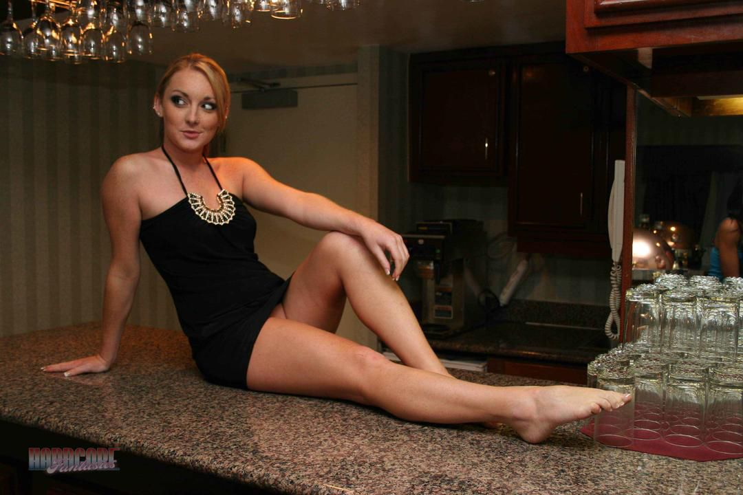 Little Black Dress On The Counter
