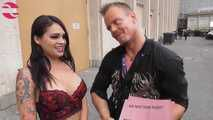 Venuscasting with a hot latina