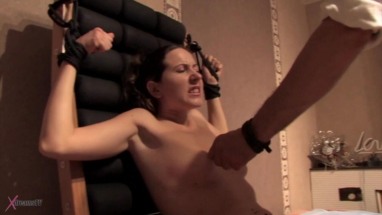 Yasemin - Bound And Tormented At The Bondage Chair