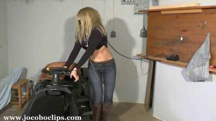 Handcuffed To The Lawnmower