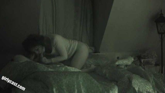 Anna Sex mit versteckter Nachtsicht Kamera