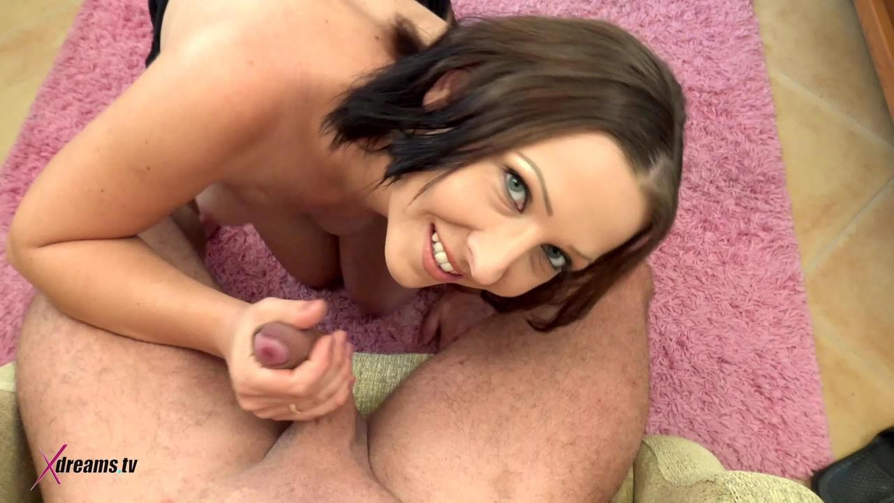Ashley Dark To Seduce Her Hubby By POV-Handjob