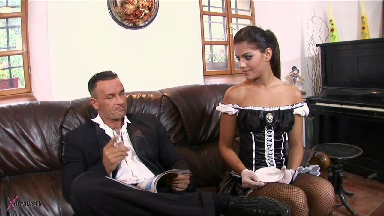 Dienstmädchen Service - Defrancesca Gallardo - Chef Fick meinen Arsch bitte