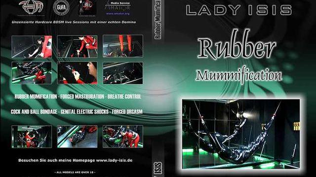 Lady Isis - Rubber Mummification