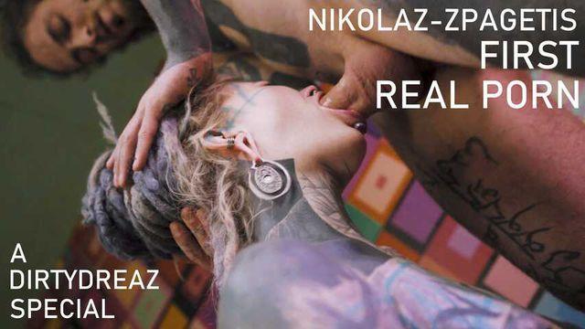 I test my new PORN actor Nikolaz_zpageti - ANAL fuck