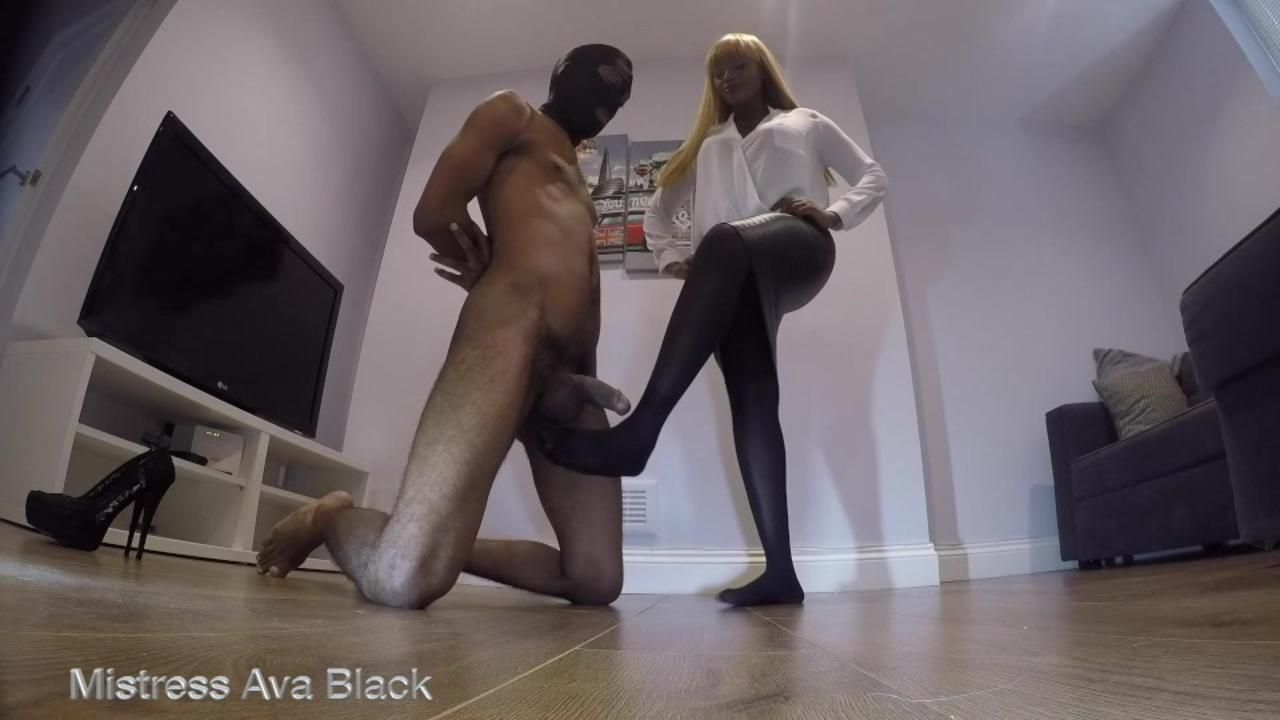 Ballbusting bitch!