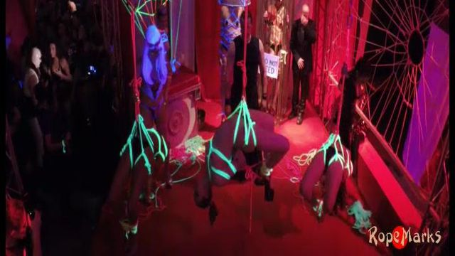 Blacklight installation @ Wasteland 20 year anniversary - video
