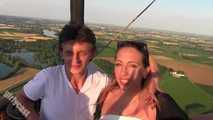 Bine's adventure in a hot air balloon & more
