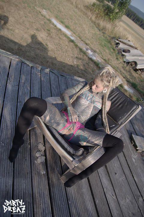 Anuskatzz outdoor sensual set