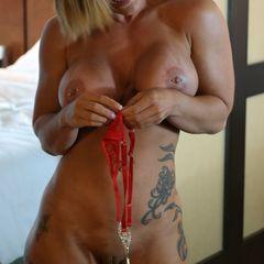 Charli McKenna and her red panties #charlimckenna #breastenhancement #redpanties