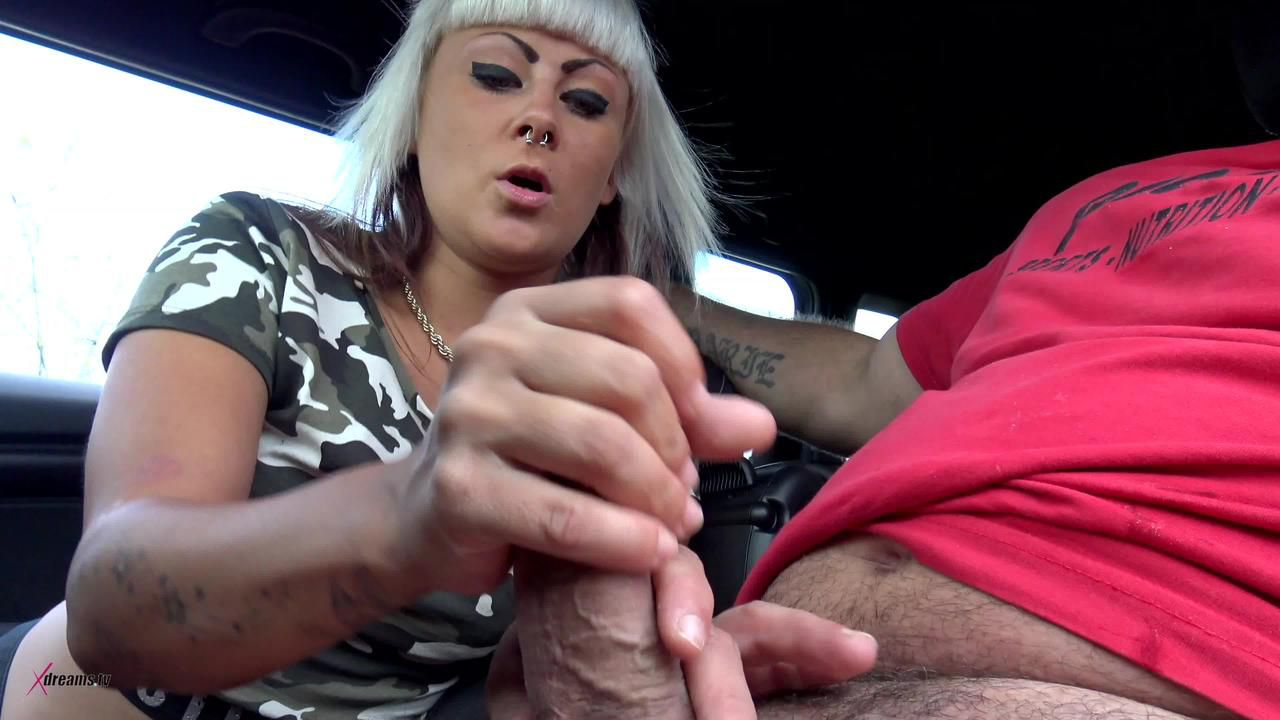 Hitchhiker Have To Pay The Ride With A Handjob