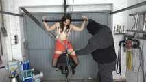 Aijana milked at Sybian Ride