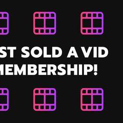 Vid Membership SOLD! I love new members! Join here!  #MVSales