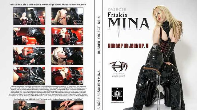 Fraeulein Mina - Rubber Object Nr.4