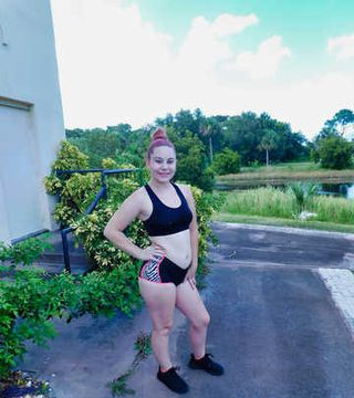 Kinky Florida Amateur Teen Jessica Out Running