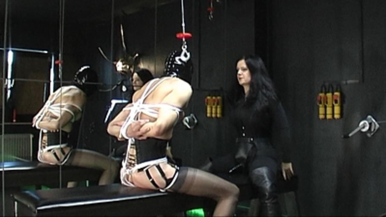 Lady Isis - Hogtied Fucked Part1