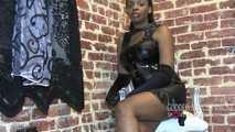 Goddess worship in latex